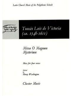 Tomas Luis De Victoria: O Magnum Mysterium Books | SATB