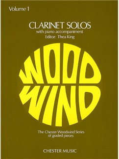 Clarinet Solos Volume 1 Livre | Clarinette, Accompagnement Piano