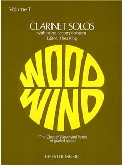 Clarinet Solos Volume 1 Books | Clarinet, Piano