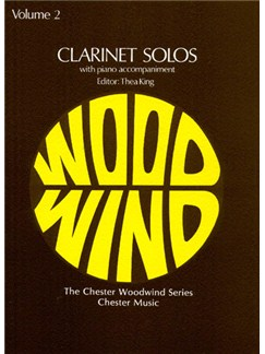 Clarinet Solos Volume 2 Books | Clarinet, Piano