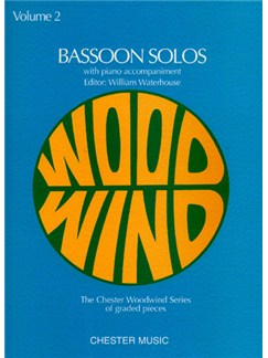 Bassoon Solos Volume 2 Books | Bassoon, Piano Accompaniment
