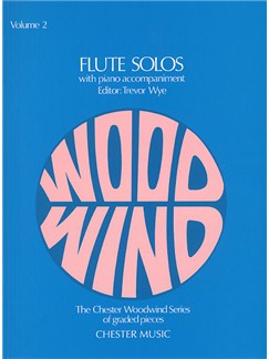 Flute Solos - Volume Two Books | Flute, Piano Accompaniment