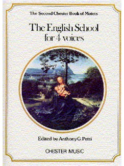 The Chester Book Of Motets Vol. 2: The English School For 4 Voices Books | SATB, Piano Accompaniment
