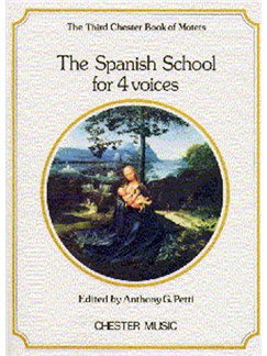 The Chester Book Of Motets Vol. 3: The Spanish School For 4 Voices Livre | SATB