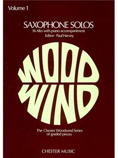 Saxophone Solos Volume 1 (Alto Saxophone) Books | Alto Saxophone, Piano Accompaniment