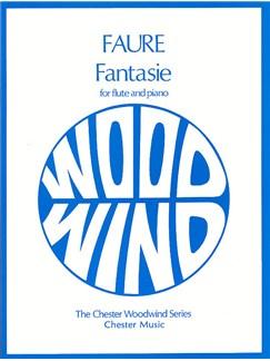 Gabriel Faure: Fantasie Op.79 Books | Flute, Piano Accompaniment