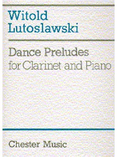 Witold Lutoslawski: Dance Preludes (Original Version 1954) Livre | Clarinette, Accompagnement Piano