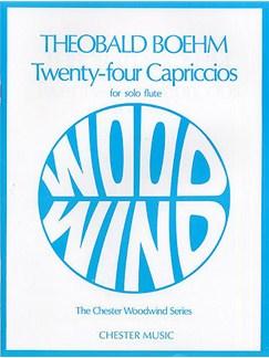 Theobald Boehm: Twenty-Four Capriccios For Solo Flute Books | Flute