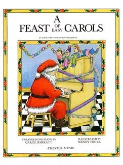 A Feast Of Easy Carols Books | Piano, Vocal & Guitar (with Chord Symbols)