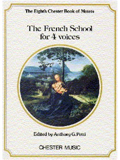 Chester Book Of Motets Vol. 8 : The French School For 4 Voices Books | Soprano, Alto, Tenor, Bass