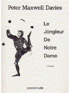 Peter Maxwell Davies: Le Jongleur De Notre Dame Books | Baritone, Chamber Group