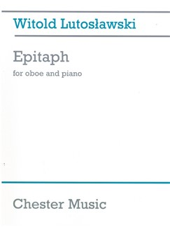 Witold Lutoslawski: Epitaph Books | Oboe, Piano
