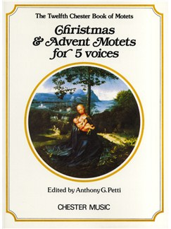 Chester Book Of Motets Vol. 12: Christmas And Advent Motets For 5 Voices Livre | SATB