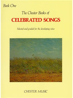 The Chester Book Of Celebrated Songs - Book One Books | Voice, Piano Accompaniment