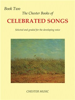 The Chester Book Of Celebrated Songs - Book Two Books | High (Medium) Voice, Piano