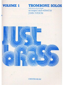 Just Brass Trombone Solos Volume 1 Books | Trombone, Piano