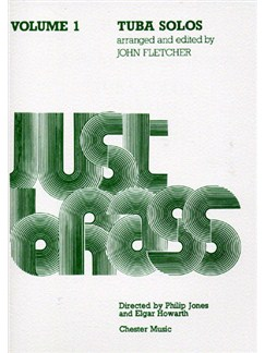Just Brass: Tuba Solos - Volume 1 Books | Tuba, Piano