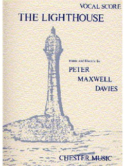 Peter Maxwell Davies: The Lighthouse Vocal Score Books | Opera