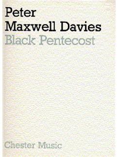 Peter Maxwell Davies: Black Pentecost Books | Mezzo-Soprano, Baritone, Orchestra