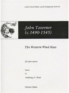 John Taverner: The Western Wind Mass Books | Soprano, Alto, Tenor, Bass