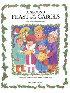A Second Feast Of Easy Carols Books | Piano and Voice, with Guitar chord symbols