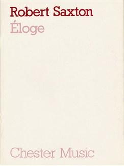 Robert Saxton: Eloge (Full Score) Books | Soprano, Flute, Oboe, Clarinet, Horn, Piano, String Quartet.