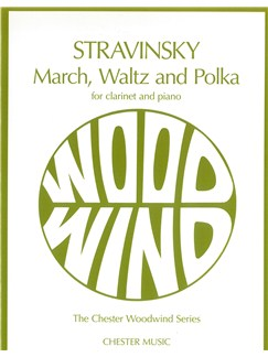 Igor Stravinsky: March, Waltz And Polka Books | Clarinet, Piano