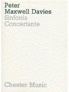 Peter Maxwell Davies: Sinfonia Concertante (Miniature Score) Books | Chamber Group