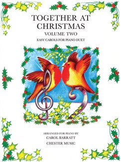 Barratt: Together At Christmas Book 2 Books | Piano Duet