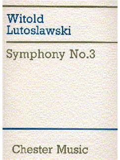 Witold Lutoslawski: Symphony No.3 Books | Orchestra
