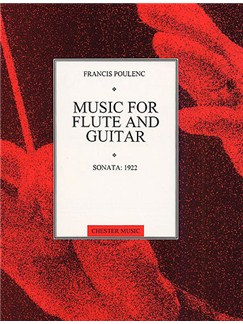 Poulenc: Sonata For Flute And Guitar Books | Flute, Guitar