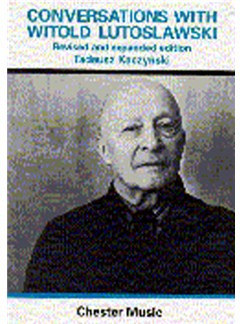 Conversations With Witold Lutoslawski Books |