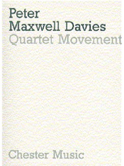 Peter Maxwell Davies: Quartet Movement Books | String Quartet