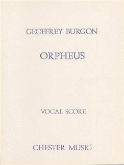 Geoffrey Burgon: Orpheus Books | Soprano, Tenor, Bass, Baritone, Piano