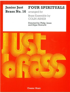Junior Just Brass 16: Four Spirituals Books | Brass Ensemble