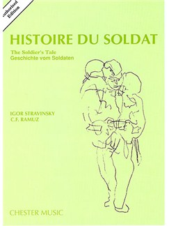 igor stravinsky histoire du soldat the soldiers tale books chamber group