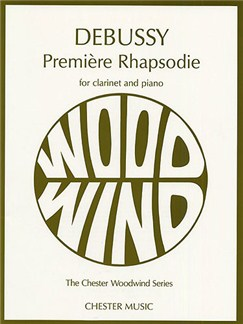 Debussy:Premiere Rhapsodie Books | Clarinet and Piano