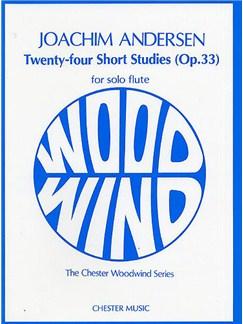 Joachim Andersen: Twenty-Four Short Studies Op.33 For Flute Solo Books | Flute