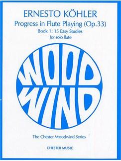 Kohler: Progress in Flute Playing Op.33 Book 1 Books | Flute