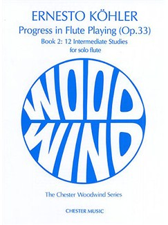 Kohler: Progress in Flute Playing Op.33 Book 2 Books | Flute