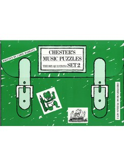 Chester's Music Puzzles - Set 2 Books | Piano