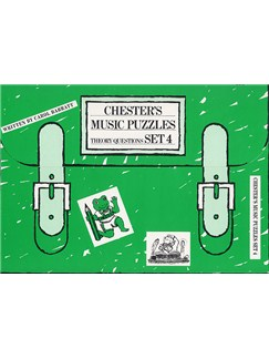 Chester's Music Puzzles - Set 4 Books | Piano