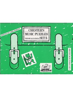 Chester's Music Puzzles - Set 5 Books | Piano