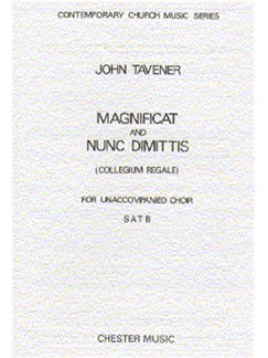 John Tavener: Magnificat And Nunc Dimittis Books | SATB