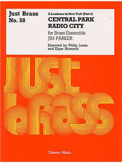 Jim Parker: A Londoner In New York (Part 2) - Score/Parts (Just Brass No.58) Livre | Ensemble de Cuivres