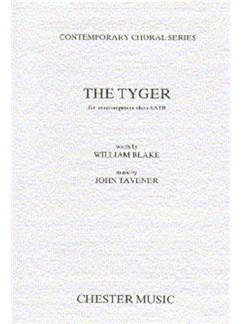 John Tavener: The Tyger (13-Part Choir) Books | Five Sopranos, 2 Altos, 3 Tenors, 3 Basses