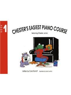 Chester's Easiest Piano Course Book 1 Books | Piano