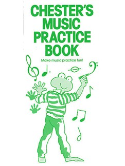Chester's Music Practice Book Books | Piano