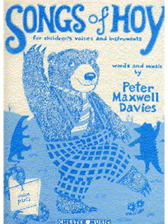Peter Maxwell Davies: Songs Of Hoy Voice Parts Books | Voice, Recorder, Piano, Guitar