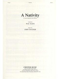 John Tavener: A Nativity Books | Choral, SSSAA
